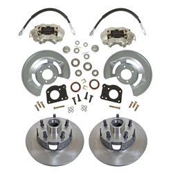 Jeep Cj5 Summit Racing Full Wheel Drum To Disc Brake Conversion Kits Sum Bk1524