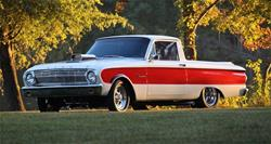 Summit Racing SUM-CSUMTM63003 - Toymakerz 1963 Ford Ranchero Chassis and Brakes Combos