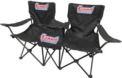 Summit Racing SUM-P1031 - Summit Racing® Double Seats with Cooler Table