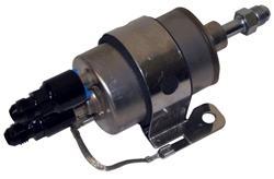 Russell 634173 Black 5/' 6AN Twist-Lok Hose Push-Lock