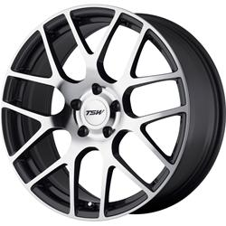 TSW Wheel 1890NUR505121S70 - TSW Wheels Nurburgring Series Gunmetal Wheels