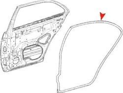URO Parts 210 730 0278 - URO Parts Weatherstrip Seals