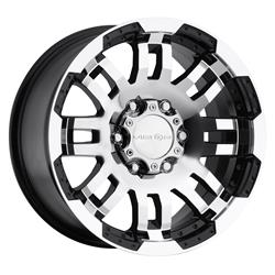 Vision Wheel 375H7865GBMF18 - Vision Off-Road 375 Warrior Series Gloss Black Wheels with Machined Face