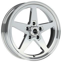 Vision Wheel 571 5165p0 American Muscle Sport Star Ii Polished Wheels