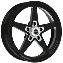Vision Wheel 571 7461b 24 American Muscle Sport Star Ii Black