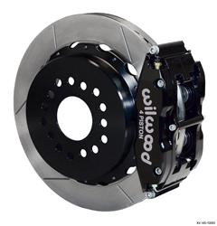 Wilwood Disc Brakes 140-10093 - Wilwood Forged Narrow Superlite 4R Big Brake Rear Parking Brake Kits