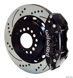 Wilwood Disc Brakes 140-11765-D - Wilwood W4A Rear Disc Brake Kits