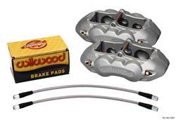 Wilwood Disc Brakes 140-11857 - Wilwood D8-6 Brake Calipers
