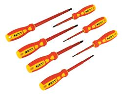 Ernst 6010  20-Tool Screwdriver Rail Set Red