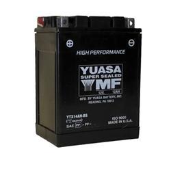 Yuasa Batteries YUAM62H4A - Yuasa AGM High Performance Maintenance-Free Batteries