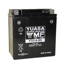 Yuasa Batteries YUAM6230X - Yuasa AGM High Performance Maintenance-Free Batteries
