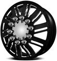 Click here for more information about American Force Wheels AFDC70225-8 - American Force Shift Dually Series Flat Black Wheel Combos