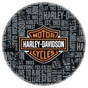 "Click here for more information about Harley-Davidson® ""Repeat"" Pattern Bar Stool"