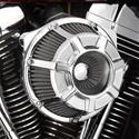 Click here for more information about Arlen Ness Beveled Inverted Air Filter Assemblies
