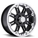 Click here for more information about Black Rhino Wheels 2090ROC005140B78 - Black Rhino Rockwell Gloss Black Wheels
