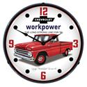Click here for more information about Chevy Workpower Backlit Clocks