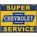 Click here for more information about Chevrolet Super Service Tin Sign