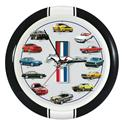 Click here for more information about History of Mustang Wall Clock