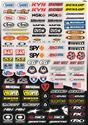 Click here for more information about Factory Effex 10-68014 - Factory Effex Micro Sponsor Sticker Sheets