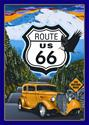 Click here for more information about Rt 66 The Mother Road Sign