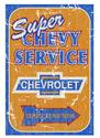 Click here for more information about Rustic Super Chevy Service Sign