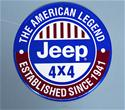Click here for more information about Jeep 4X4 Sign -Round