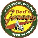 Click here for more information about Dad's Garage Tin Sign