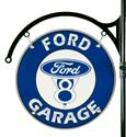 Click here for more information about Ford Garage Double-Sided Sign