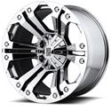 Click here for more information about KMC XD77829086218 - KMC XD778 Monster Chrome Wheels