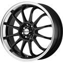 Click here for more information about Maxxim S906 Gloss Black Wheels with Machined Lip