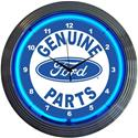 Click here for more information about Summit Gifts 8FRDGP - Genuine Ford Parts Neon Clock