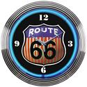 Click here for more information about Neonetics Route 66 Neon Clock