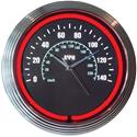 Click here for more information about Speedometer Neon Clock
