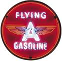 Click here for more information about Summit Gifts 9GSFLY - Flying A Gasoline 36 in. Diameter Neon Sign