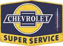 Click here for more information about Summit Gifts 90150963 - Chevrolet Super Service Thermometer Signs