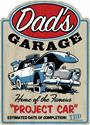 Click here for more information about Summit Gifts 90155968 - Dad's Garage Project Car Steel Sign