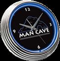 Click here for more information about MAN CAVE NEON CLOCK