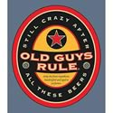 Click here for more information about Old Guys Rule Beer Label T-Shirt