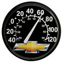 Click here for more information about Chevy Bowtie Emblem Wall Thermometer