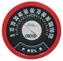 "Click here for more information about 1957 Chevy Bel Air Wooden ""Speedometer"" Thermometer"