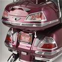 Click here for more information about Show Chrome Accessories LED Saddle Bag Light Sets