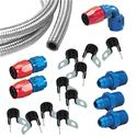 Click here for more information about Summit Racing SUM-PUMPKIT1 - Summit Racing® Fuel Line Combination Kits