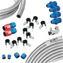 Click here for more information about Summit Racing SUM-PUMPKIT4 - Summit Racing® Fuel Line Combination Kits