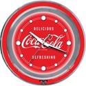 Click here for more information about Coca-Cola® Red Double Neon Clock