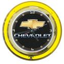 Click here for more information about Chevrolet Double Neon Clock