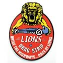 Click here for more information about Lions Drag Strip Oval Sign