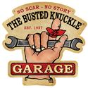 Click here for more information about Busted Knuckle No Scar, No Story Steel Sign