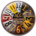 Click here for more information about License Plate Clock