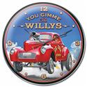 Click here for more information about You Gimme The Willys Wall Clock