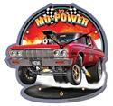 Click here for more information about Larry Grossman Mo-Power Wall Clock